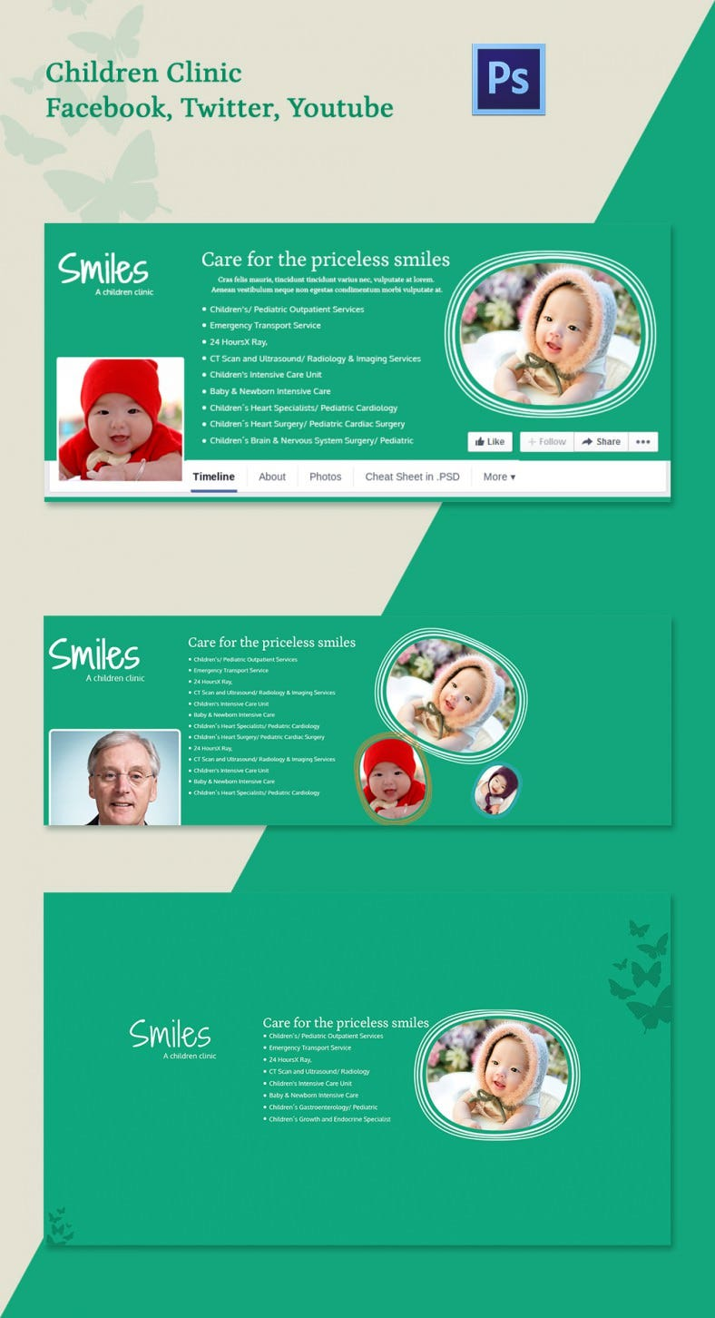 ChildrenClinic_SocialcoverPages