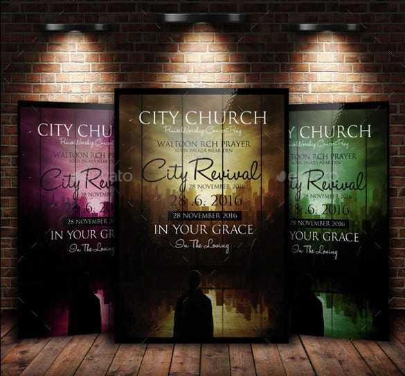 Back To God Church Flyer Template