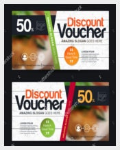 Business Voucher Discount Template