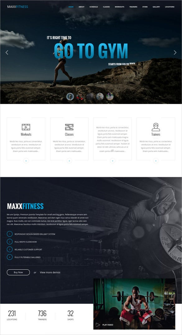 static responsive joomla website template