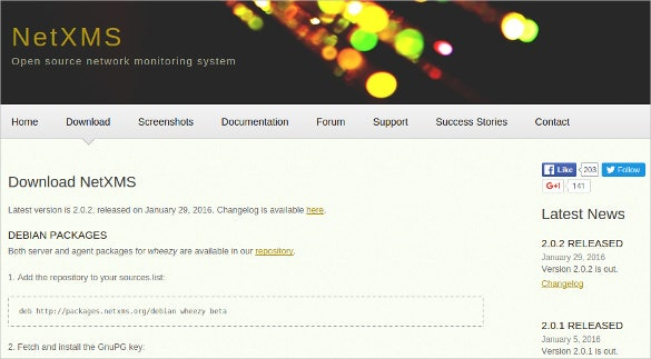 netxms network monitoring system download