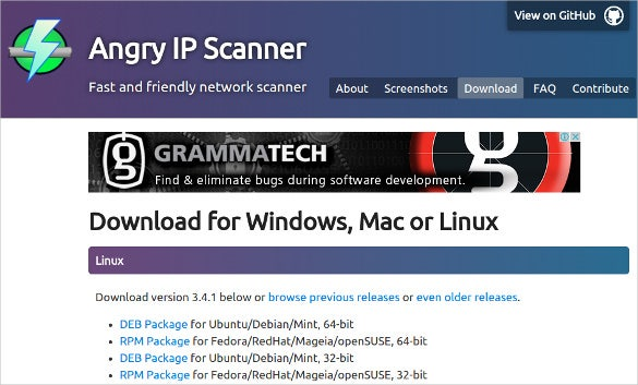 angry ip scanner friendly network analyser