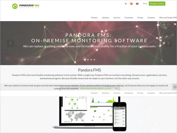 download pandora fms network analysis tool