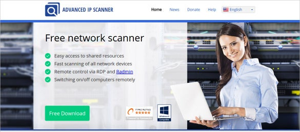 advanced ip scanner free network analyzer