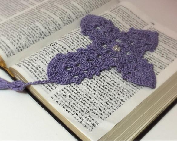 decorative christian bookmarker