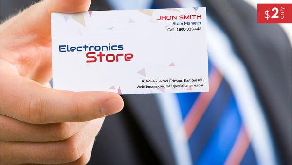electricalstore_businesscardtemplate