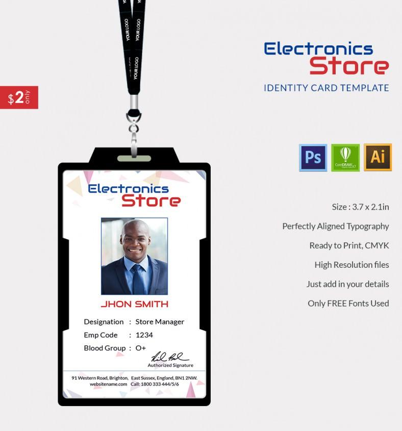ElectricalStore_Indentitycard