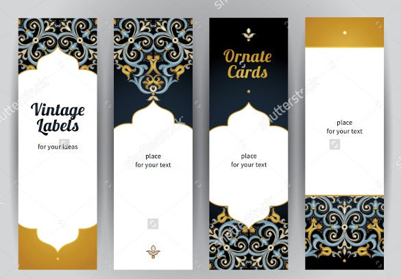 bookmark design templates instant download