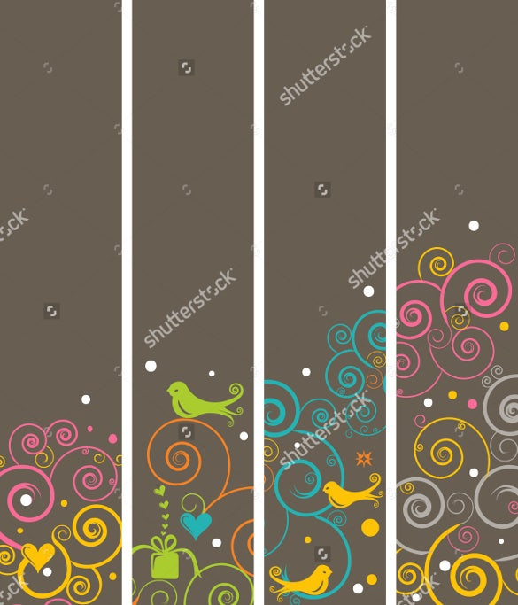 elegant bookmark design template