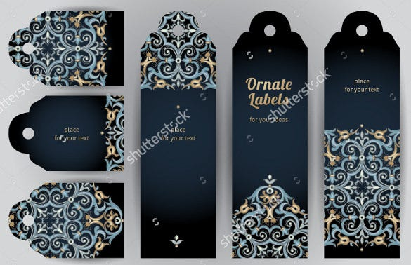 attractive bookmark design templates