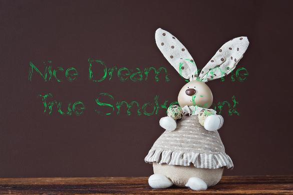 nice dream come true smoke font ttf format