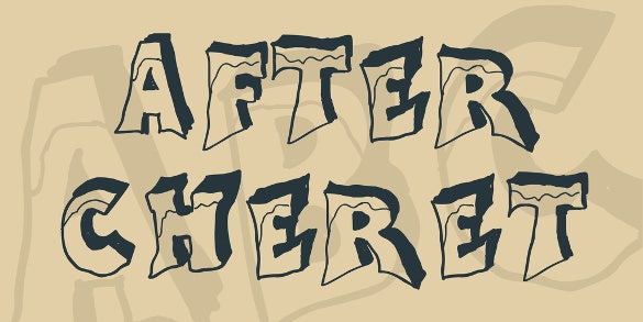 after cheret smoke font download