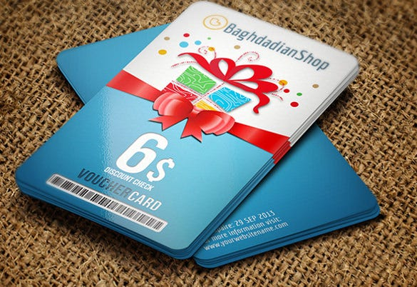 gift voucher card template format