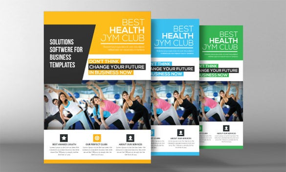Fitness Flyer Template - 32+ Free Psd Format Download | Free
