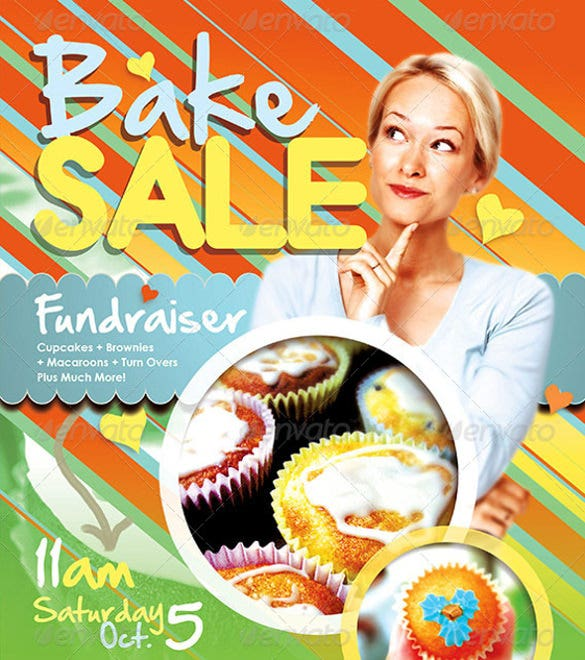 Fundraiser Flyer Templates   Free Psd Eps Ai Format Download