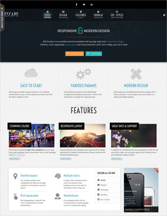 responsive joomla multipurpose game theme