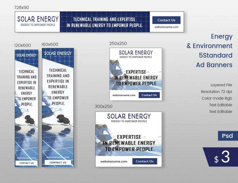 EnergyAndEnvironment_Ad_Banners