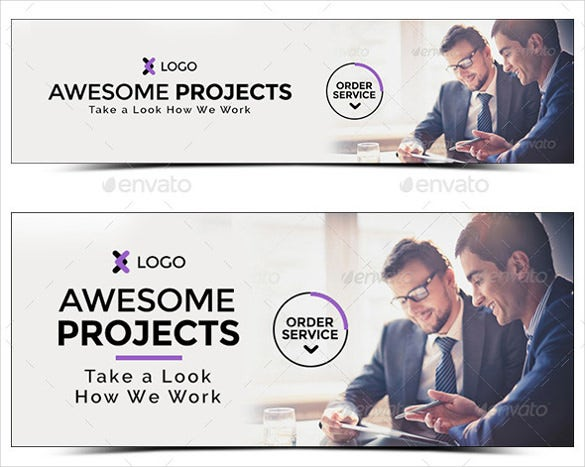 corporate sample banner design template