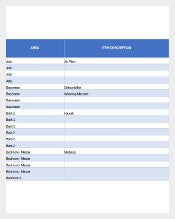 Free Excel DatabaseHome Inventory Template