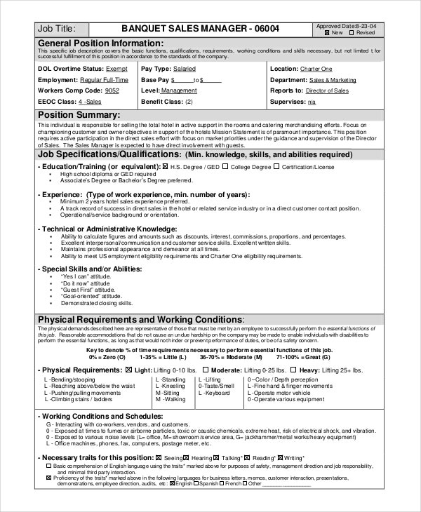 Catering Assistant Job Description Catering Resume Resume Template  Catering Job Description For Resume