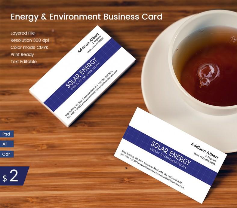 EnergyAndEnvironment_Businesscard