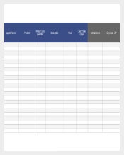 Inventory Control Template Free Download in Excel