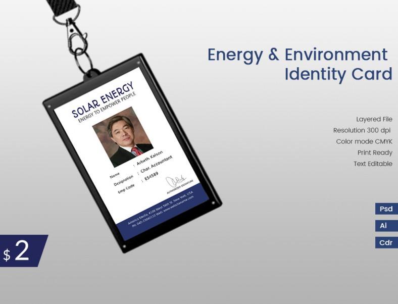 EnergyAndEnvironment_Indentitycard