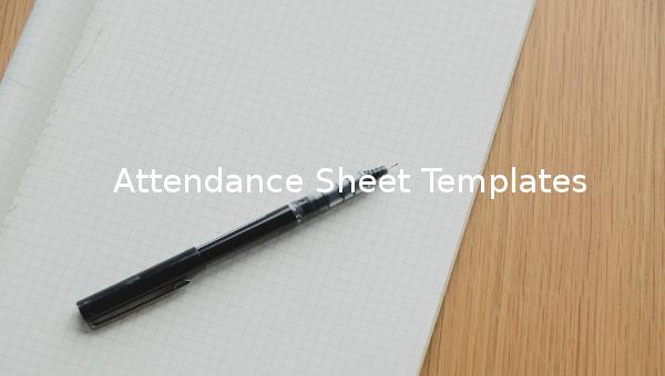 attendancesheettemplates