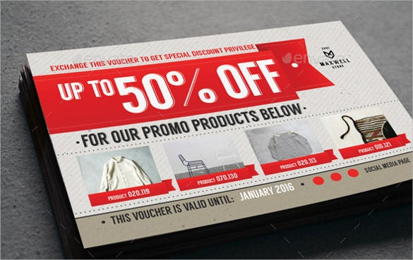 34+ Coupon Voucher Templates - PSD, AI, Word | Free ...