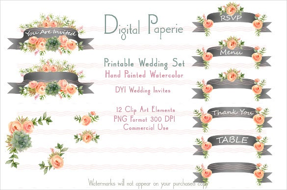 printable wedding sample banner template