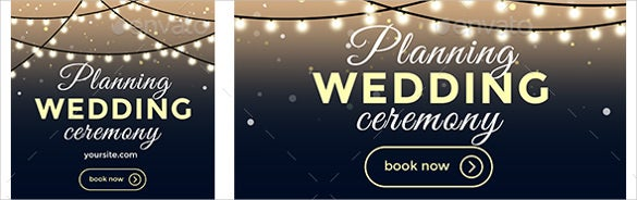 commercial wedding sample banner template