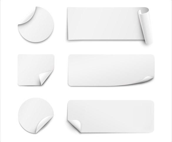 blank corner bookmark templates