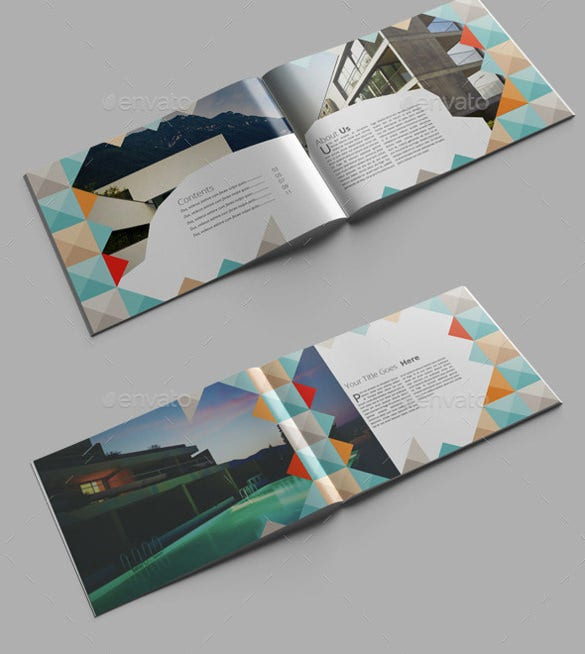 architecture brochure indesign