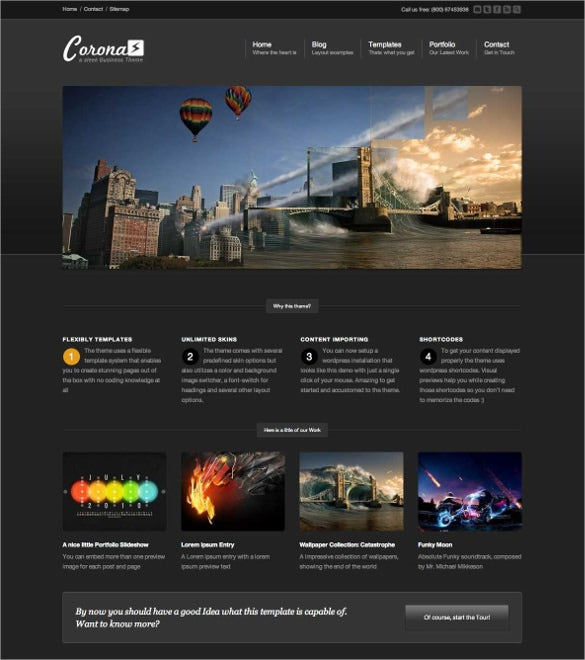 21+ 3D Website Themes & Templates | Free & Premium Templates
