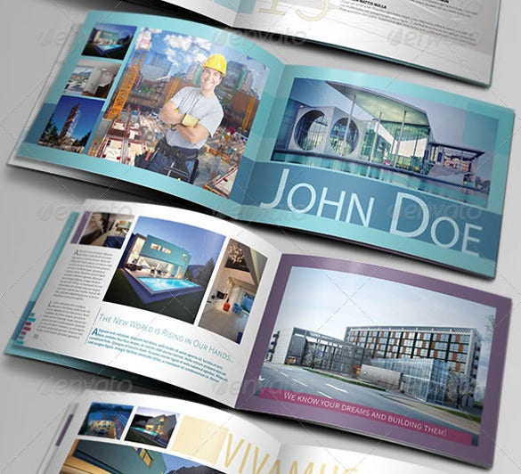 architect portfolio brochure template