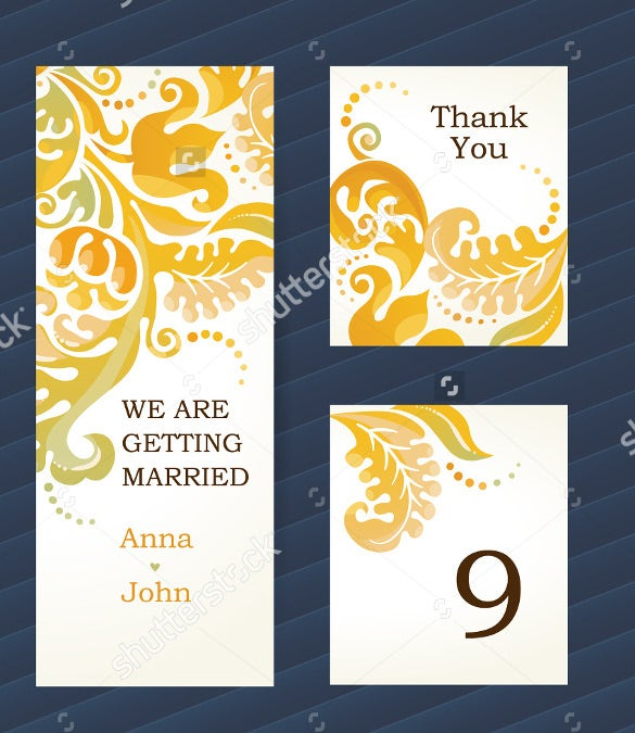 21+ Save The Date Bookmark Templates – Free Sample, Example ...