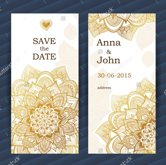 21 save the date bookmark templates free sample for Save the date templates free download