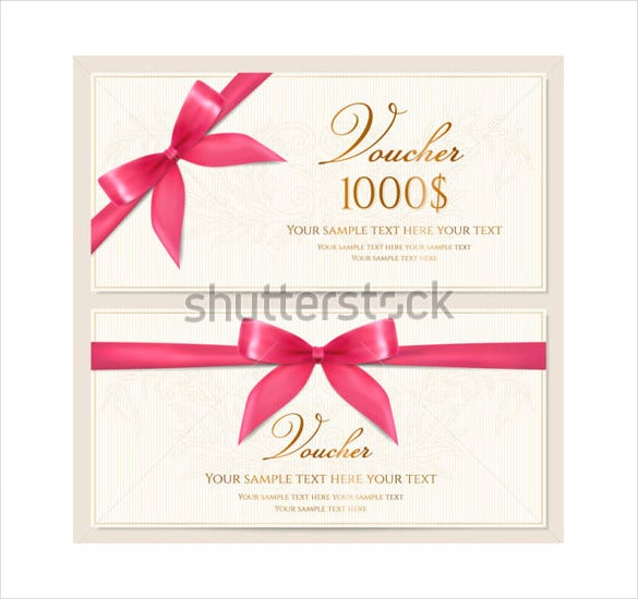 10 Blank Voucher Templates Free Sample Example Format Download – Blank Voucher Template