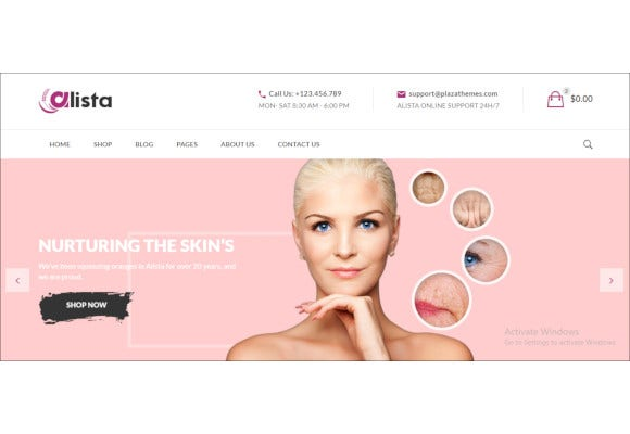 alista ecommerce bootstrap template