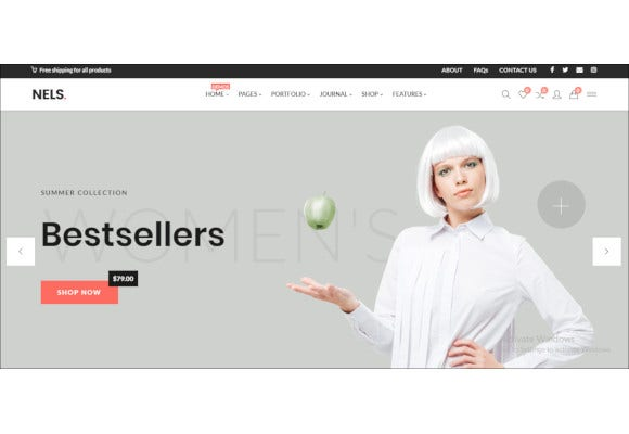 an exquisite ecommerce wordpress theme