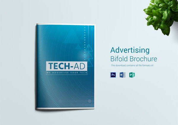 bdvertising bi fold brochure template