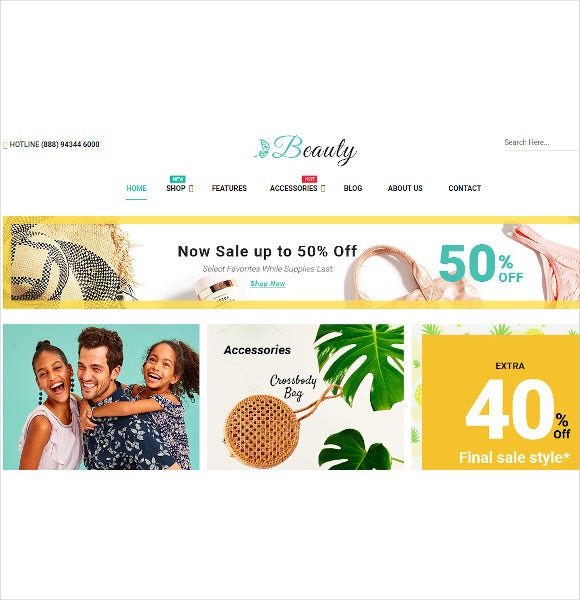 beauty modern responsive prestashop