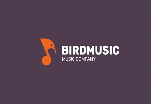 bird music logo