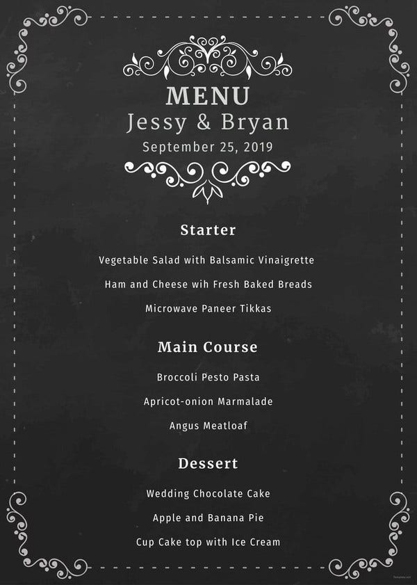 chalkboard-wedding-menu-template