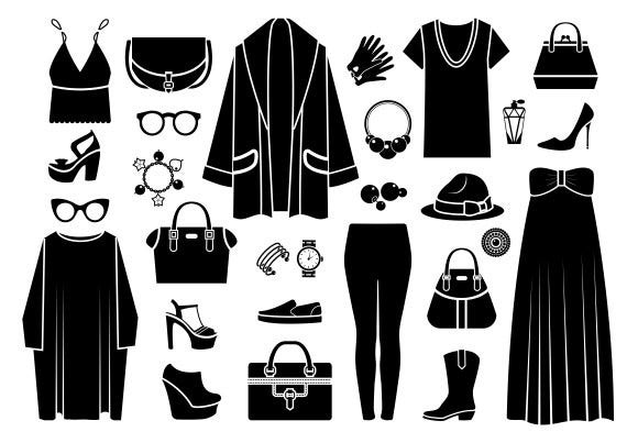 clothing accessories fashion icons