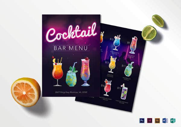cocktail-bar-menu-template