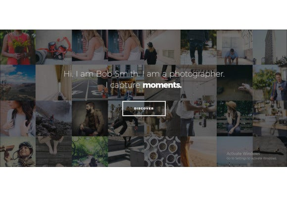 creative best wordpress website photographer theme