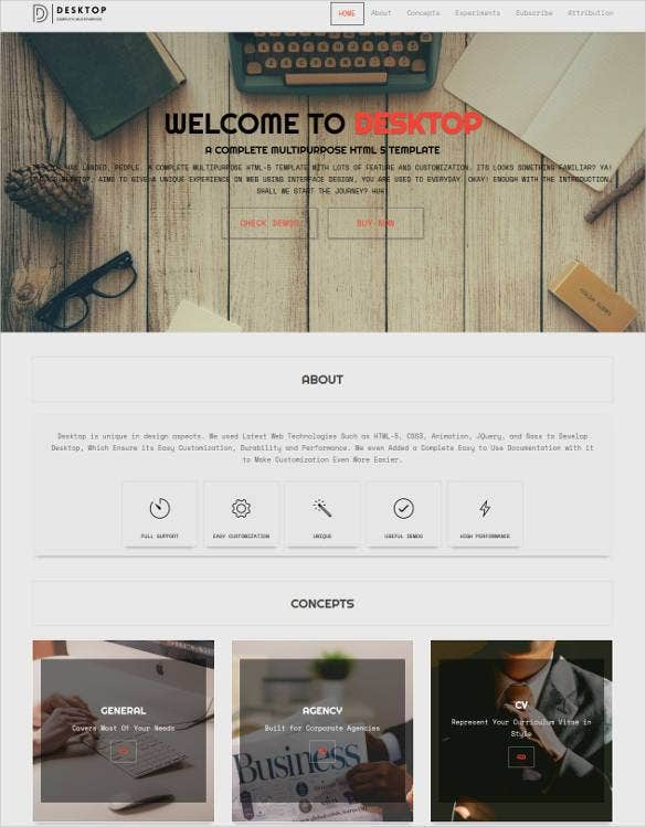 creative metro multipurpose html5 template11