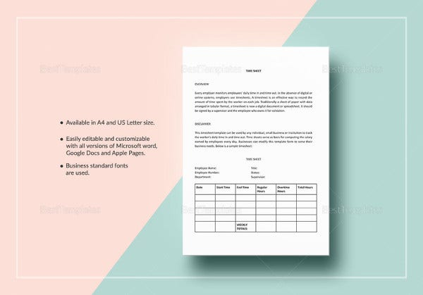 easy-to-print-time-sheet-template