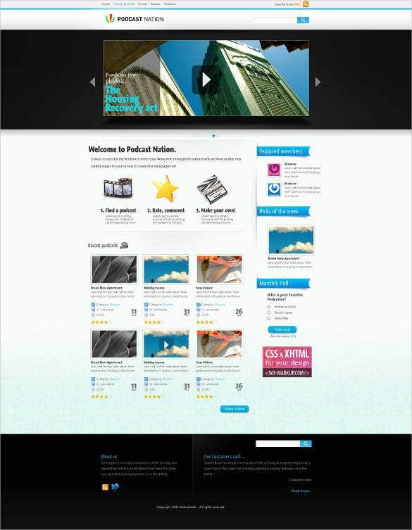 elegant responsive video website template1